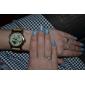 Women's Polymer Clay PU Analog Quartz Wrist Watch (Brown)
