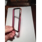 Bumper Case for iPhone 4 (Black+ Red)