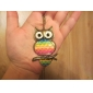 Rainbow Owl Vintage Necklace