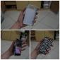 الحمار الوحشي نمط شريطية حالة لينة لأوبتيموس LG P705 L7