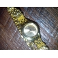 Women's Fashionable Style Alloy Analog Quartz Bracelet Watch (Gold)
