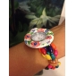 Women's Wood Analog Quartz Bracelet Watch (Multi-Colored) Cool Watches Unique Watches