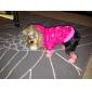pethingtm warmen Baumwollmantel mit Kapuze für Hunde (XS-XL, rot)