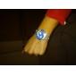 여성용 회오리 바람 써클 스타일 골드 합금 콰츠 아날로그 팔찌 손목시계 (다양한 색상)