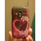Butterfly and Heart-Shape Pattern TPU Soft Case for Samsung Galaxy S3 Mini I8910