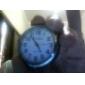 "1"" Mini Analog Quartz Desktop Clock (Black, 1xButton Battery)"