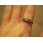 Lureme®Crystal Diamond Inlaid Square Ring