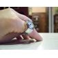 kvinners stilig legering analog kvarts ring klokke (sølv)