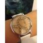 Legno analogico al quarzo orologio da polso da donna (multicolore)