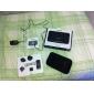 supertunn bärbar högtalare för iPod och iPhone med 3,5 mm aux (mfi certifikat, äpple 30-pin-port)