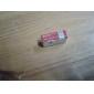panasonic 9v bateria recarregável de alta capacidade