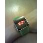 Unisex Groen LED-Horloge