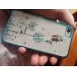 Жесткий чехол для iPhone 4/4S с креативным дизайном