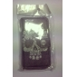 Skull Pattern Full Body Case for iPhone 4/4S (Assorted Colors)