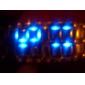Montre-Bracelet LED Elégante, Bracelet en Acier Inoxydable - Bronze  (1*CR2016)