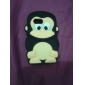 Protective Monkey Pattern Soft TPU Case for Samsung S5360 (Assorted Colors)