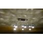 Focos Regulable MR16 GU10 5 W 5 LED de Alta Potencia 350 LM 3000K K Blanco Cálido AC 100-240 V
