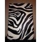 Rotatable Zebra-Stripe PU Leather Case w/ Stand for iPad mini 3, iPad mini 2, iPad mini