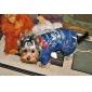 Cool Sexy Espanjan Denim Skull Pattern puku Koirat (Valikoima värejä, kokoja)