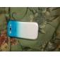 Pour Samsung Galaxy Coque Transparente Coque Coque Arrière Coque Dégradé de Couleur Polycarbonate pour Samsung S3