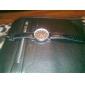 Unisex's PU Analog Quartz Wrist Watch (Black)
