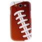Mate bola del estilo del patrón caso duro durable para Samsung Galaxy S3 I9300