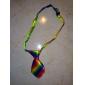 bunten Regenbogen-Muster Hals binden für Haustiere Hunde Katzen (Hals: 26-38cm)