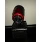 clássico plug-and-play hd 640x480 0.3 megapixels usb câmera do PC webcam com microfone