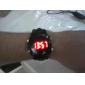 Vattentåligt LED-ur med tid/datumvisning