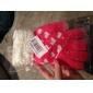 Cuore Modello Fluff Guanti tattili di lana (colori assortiti)