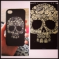 Colorful Skull Pattern Hard Case for iPhone 4/4S