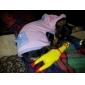 gritando brinquedo de borracha estilo frango para cães