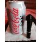 hymyilevä hai ss-5038 1-tilassa alumiini johtanut taskulamppu (1 x AAA, musta)