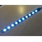 flexibla 10-ledda usb lysande ljus för bärbar dator (silver)