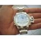WEIDE® Men's Watch Luxury Dress Watch Digital-Analog Dual Times Zones LED Water Resistant