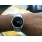 Unisex Binary Display Black Dial Silver Alloy Band Wrist Watch Cool Watch Unique Watch