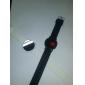 2 Sportiga Armbandsur med LED och Silikonband (svart och vit)