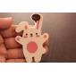 Kaninchen Shaped Soft Rubber Bookmark