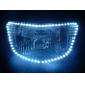 Waterproof 96cm 96-LED White LED Strip Light for Car (12V)