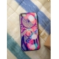 Psychedelic World Coloured Drawing Pattern Black Frame PC Hard Case for iPhone 5/5S