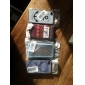 Double sauvage colorée caisse noire de cercle Oies de dessin de motif d'encadrement dure de PC pour l'iPhone 4/4S