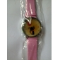 Cartoon Cat Women's and Girl's Watch Pink Watchband
