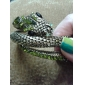 Snake-shaped Zircon Bracelet