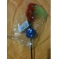Feather Ball Style Teaser Wand for Cats (Random Color)