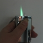 Multifunction Gas Lighter with Ultraviolet LED and Bottle Opener