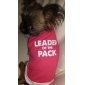 Leader of the Pack Cotton Shirt for Dogs (XS-L)