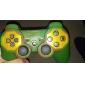 Защитные Двухцветный Стиль Силиконовый чехол для PS3 контроллер (армия зеленый и красный)