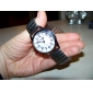 Unisex Alloy Analog Quartz Wrist Watch (Silver)