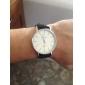 Unisex PU-Leren Horloge (verschillende kleuren te kiezen)