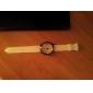 Hommes silicone Montre analogique bracelet à quartz (couleurs assorties)